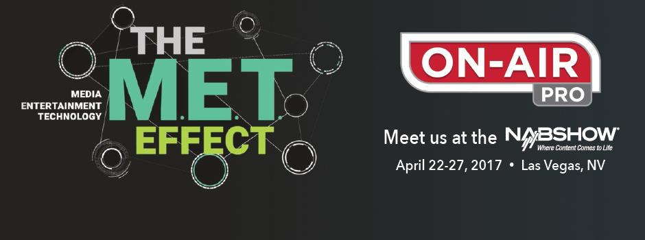 Let's Meet at NAB 2017!
